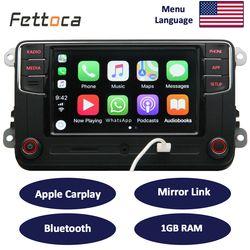RCD330 Carplay 187B MIB 6.5 pouce Voiture Radio 1 GB RAM Carplay Miroir lien Pour Golf 5 Jetta MK5 MK6 CC Skoda Passat B6 B7 Polo