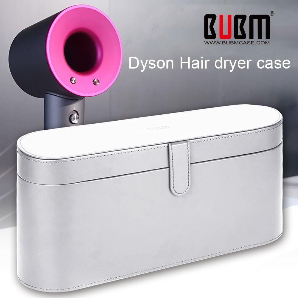 BUBM Dyson Supersonique Sèche-Cheveux Dur Cas, magnétique Flip Anti-scratch Organisateur Voyage Cadeau Cas pour Dyson Supersonique Sèche-Cheveux