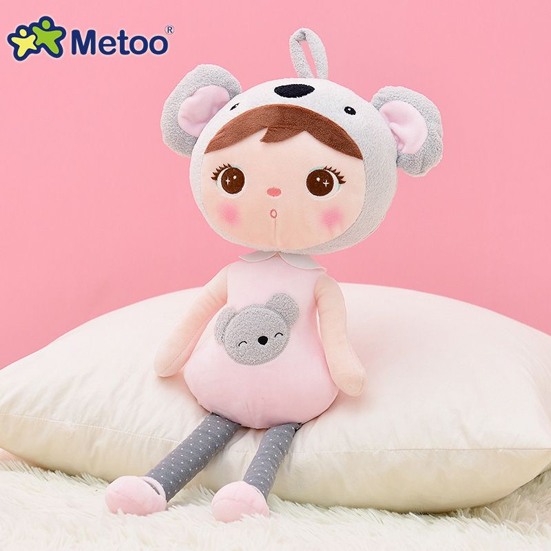 45cm Cute Girl Plush Sweet Cute Lovely Stuffed Baby Kids Toys for Girls <font><b>Birthday</b></font> Christmas Gift Keppel Baby Doll Metoo Doll