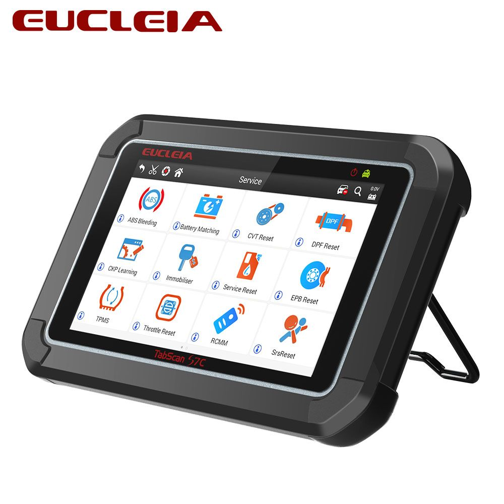 EUCLEIA TabScan S7C OBD2 Diagnostic Auto Professional Code Read Scanner With DPF EPB TPMS Oil Service Reset Car Diagnosis