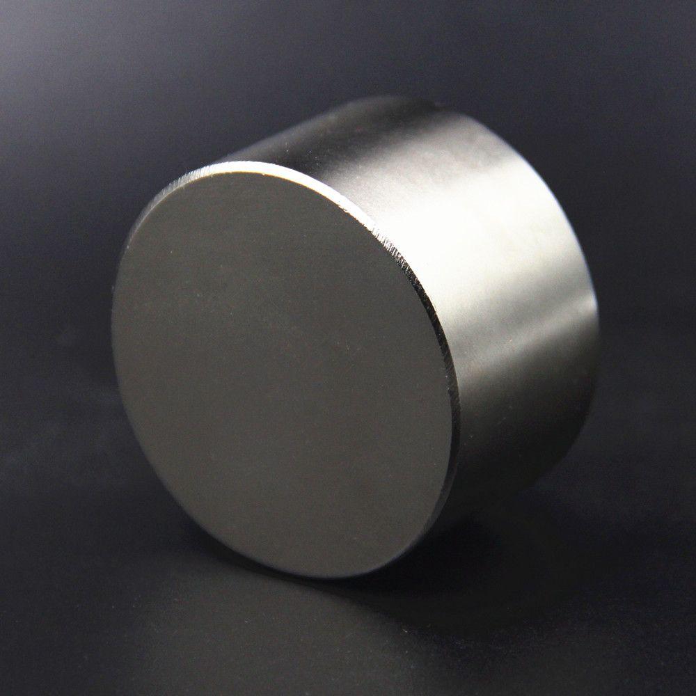 1 pièces fort rond Dia 50mm x 30mm N52 N40 N35 terre Rare néodyme aimant Art artisanat réfrigérateur 50x30mm