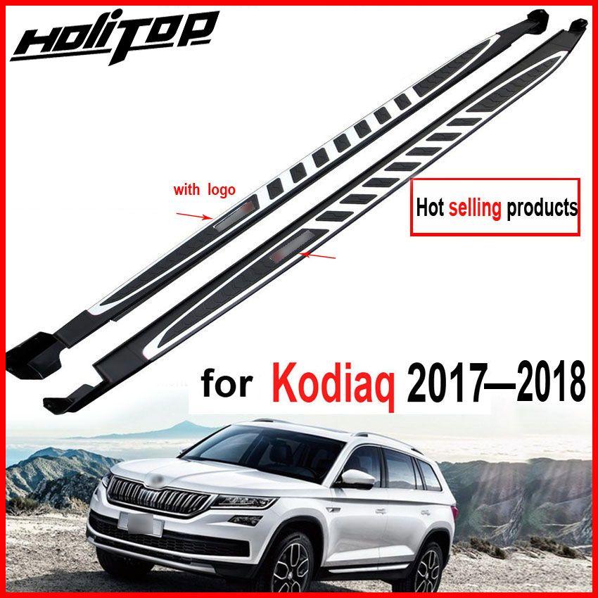 Trittbrett seite schritt nerf bar für Skoda Kodiaq 2017 2018, geliefert durch ISO9001 fabrik, empfohlen, förderung preis, 7 tage nur