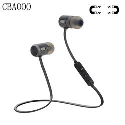 CBAOOO Bass Bluetooth Earphone Sports Wireless Earphones With Mic Magnetic in ear Bluetooth Headset For Mobile Phone Xiaomi