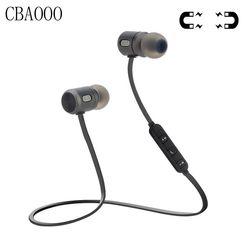 CBAOOO Sport Sans Fil Bluetooth Écouteur Casque Magnétique Bluetooth 4.1 Stéréo Écouteurs Écouteurs Avec Micro Pour Téléphone auriculares