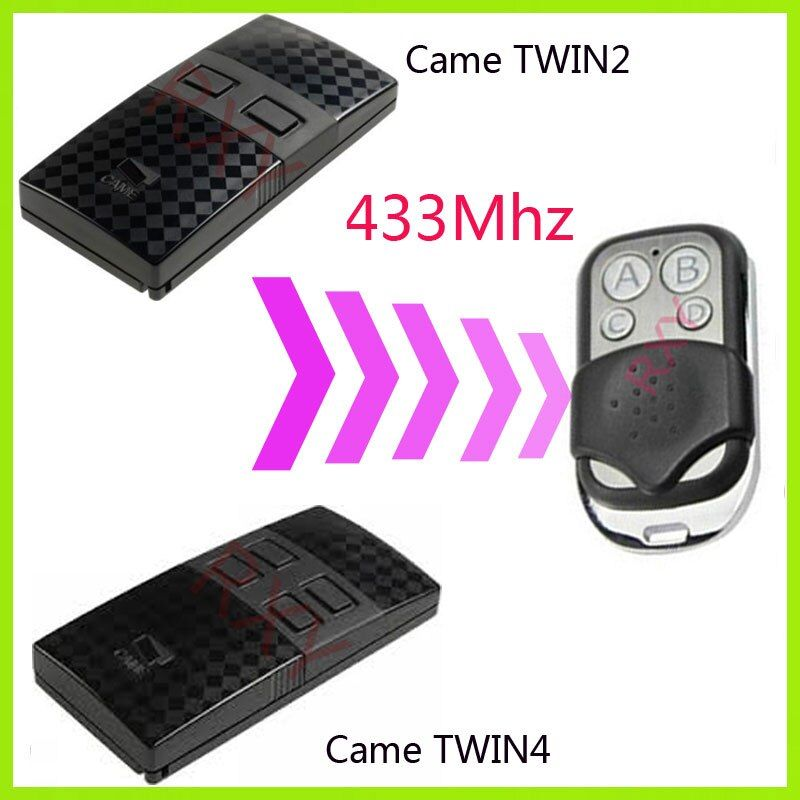 CAME TWIN2 TWIN4 433.92 MHz télécommande universelle porte de garage télécommande came télécommandes
