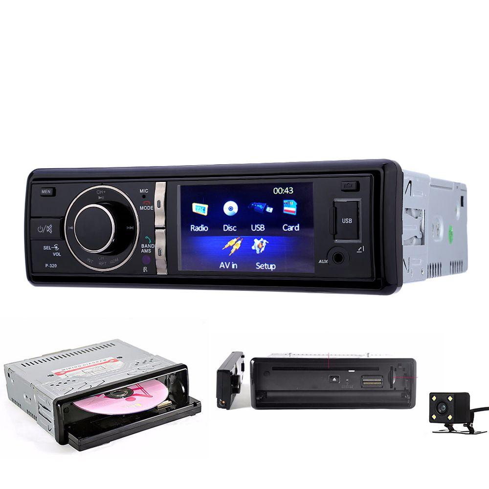 Zeepin 1Din dvd-плеер автомобиля Bluetooth автомобиля Радио FM USB Зарядное устройство Панель удалить Авто MP3 CD-плееры аудио стерео микрофон