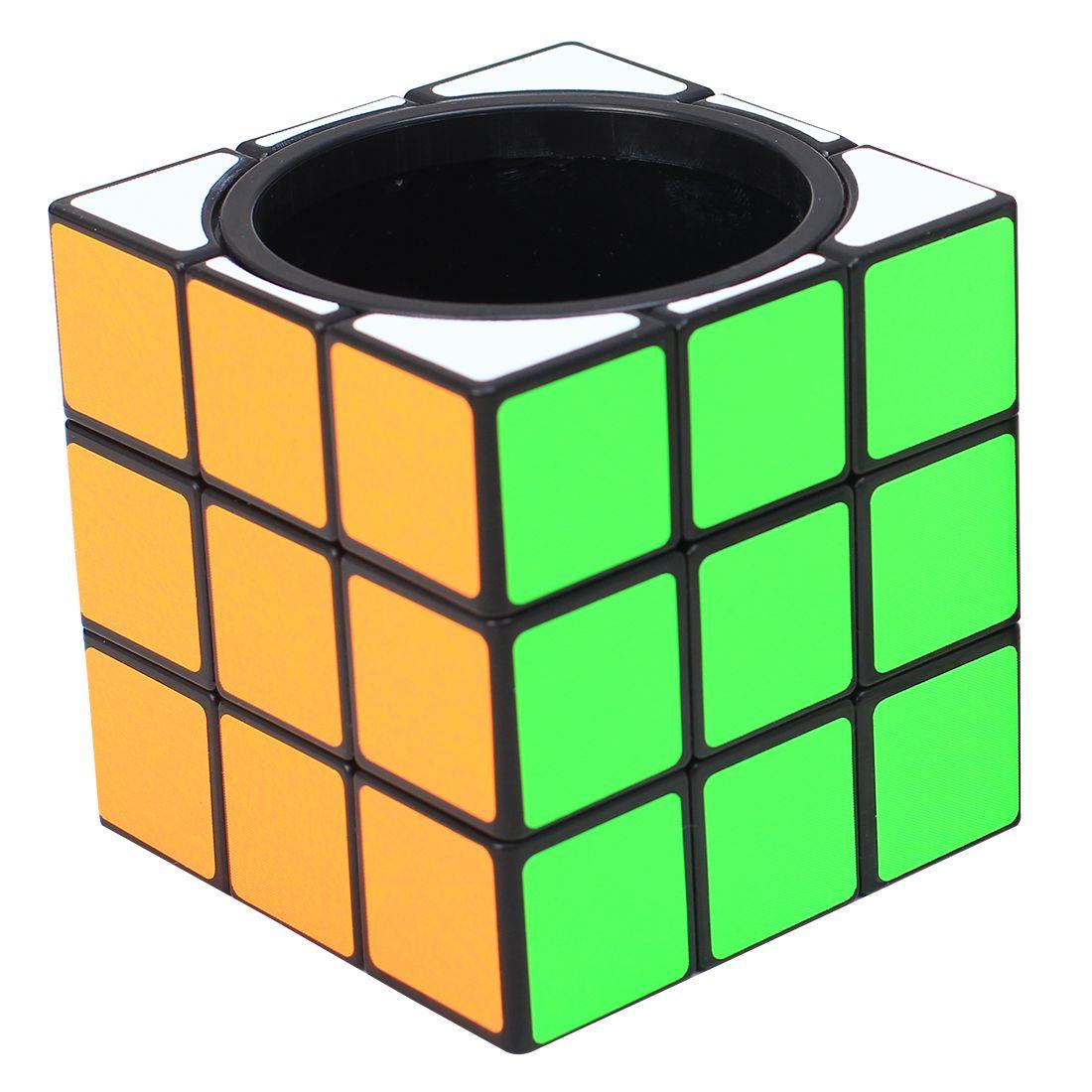 ZCUBE 3x3 Sostenedor de La Pluma Cubo Mágico Puzzle Toy-Colorido Regalo de La Novedad