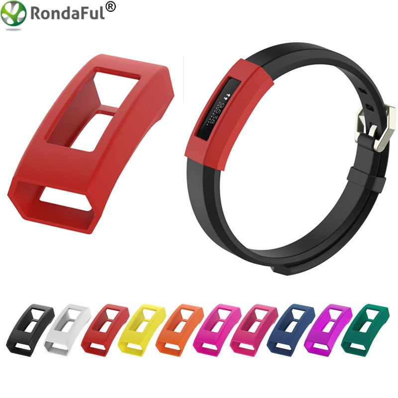 Replacement Smart Bracelet Frame Cover For Fitbit Alta / Alta HR 10 Colors Soft Silicone Protective Case Wristband Frame Cover