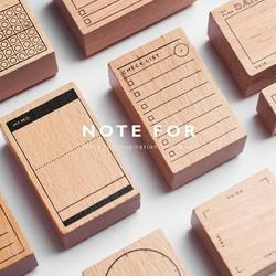 Vintage Daily Plan Check List decoration stamp wooden rubber stamps for scrapbooking stationery DIY craft standard stamp