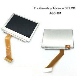 Hightlight PLUS LUMINEUX rétro-éclairé LCD Écran AGS-101 pour GBA SP Écran lcd Lumineux pour Gameboy Advance SP D'origine Nouveau