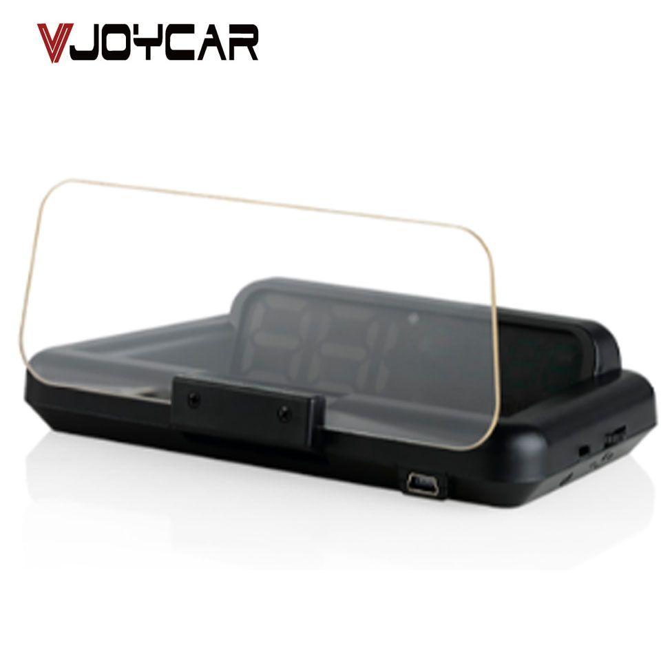 Original VJOYCAR C500 OBD2 Hud Head-Up Display With Mirror Projection Digital Car Speed Projector On-Board Computer Fuel Mileage