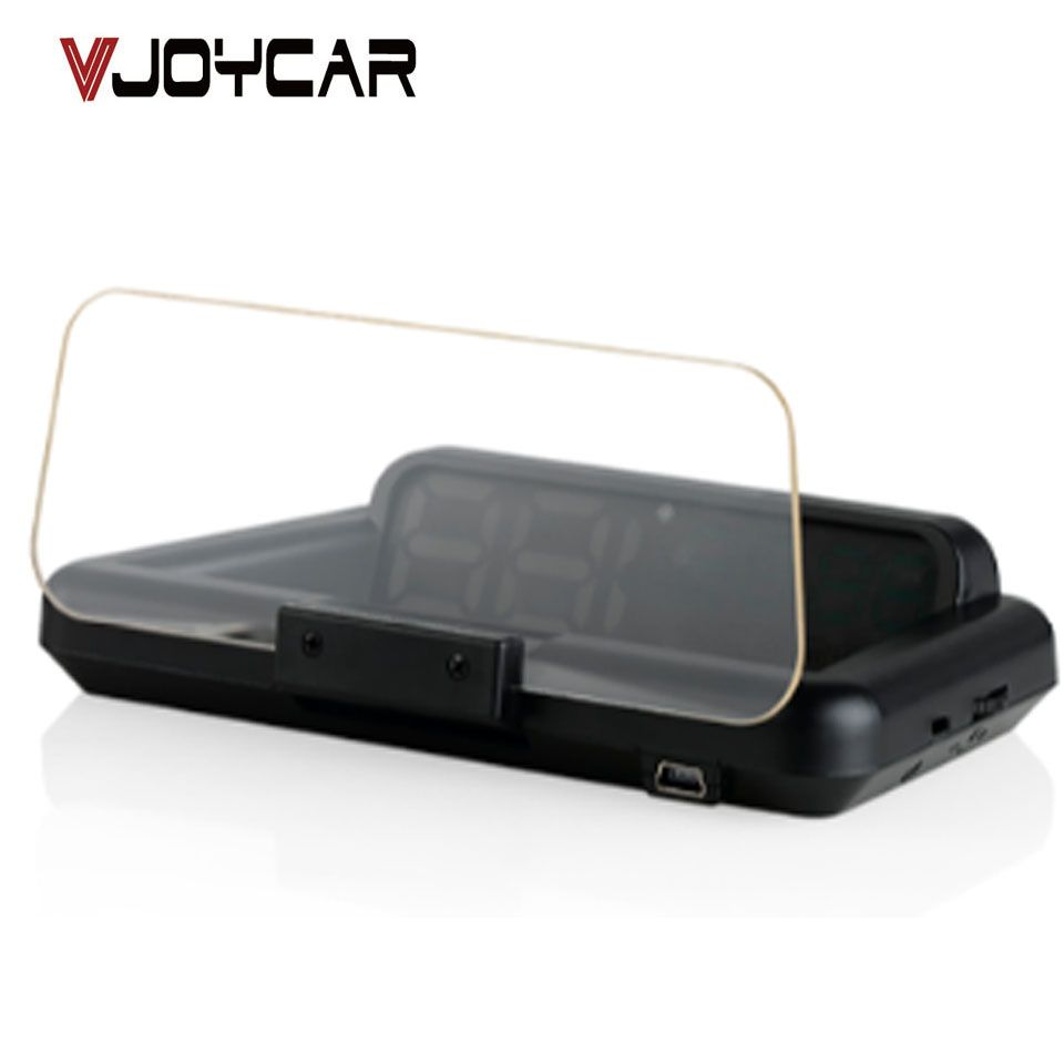 Original VJOYCAR C500 OBD2 Hud Head-Up Display With Mirror Projection Digital Car Speed Projector On-Board Computer Fuel Mileage