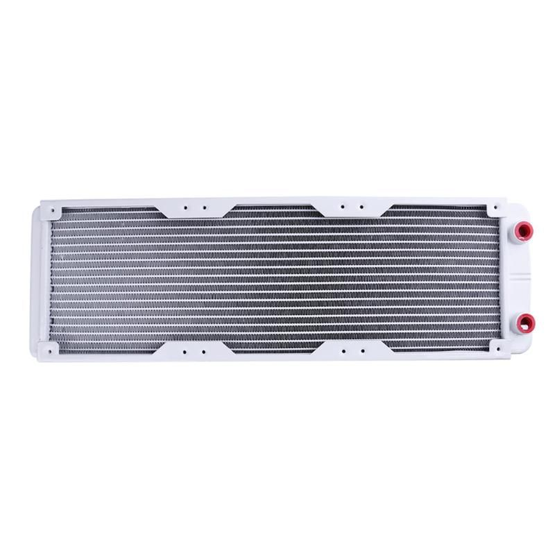 360mm 18 Tube Straight G1/4 Thread Aluminum Heat Radiator Exchanger with Screw Pack for PC Water Cooling system