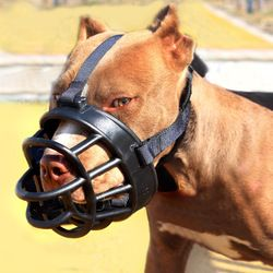 Artículos para las mascotas hocico de perro suave silicona boca máscara anti bark mordedura dogtraining bozal Pitbull Pastor Golden Retriever