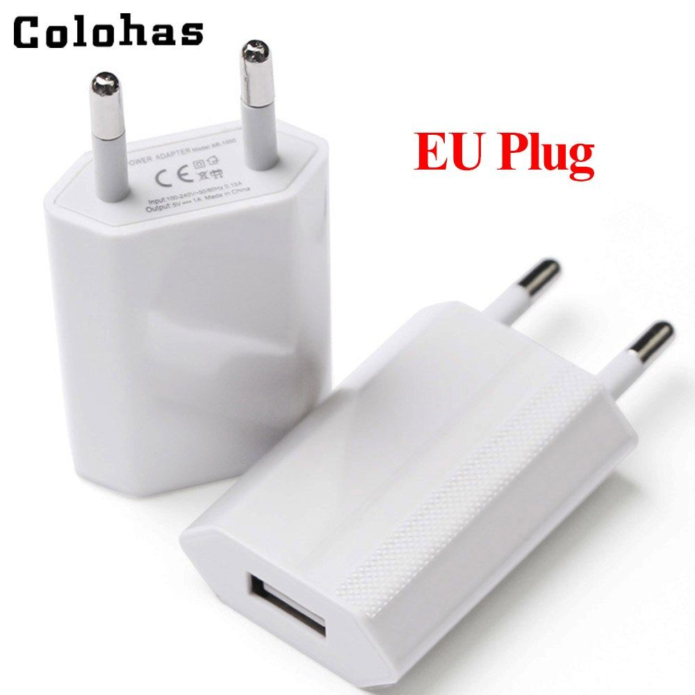 350 Pieces/Lot High Quality EU Pug USB AC Travel Wall Charging Charger Power Adapter For iPhone 6 6S 5 5S 4 4S 3GS 4G