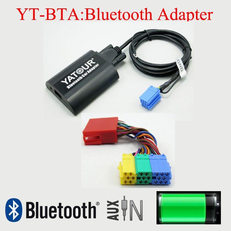 Yatour car radios Bluetooth AUX interfaces for AUDI 20PIN radios Chorus Concert Symphony Navi Plus