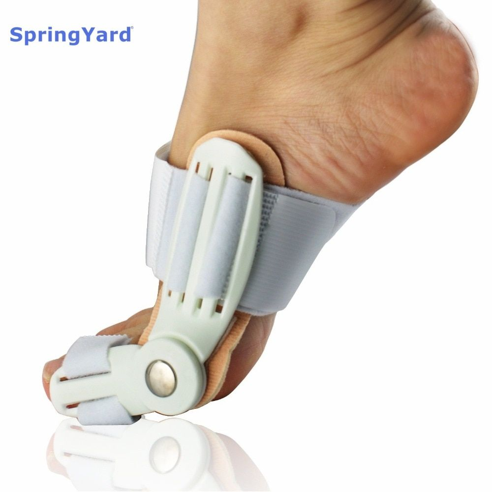 SpringYard PEEK 24 hours Big Toe Enhanced Hallux Valgus Splint Corrector Bunion Protector Toe Separator Foot Care