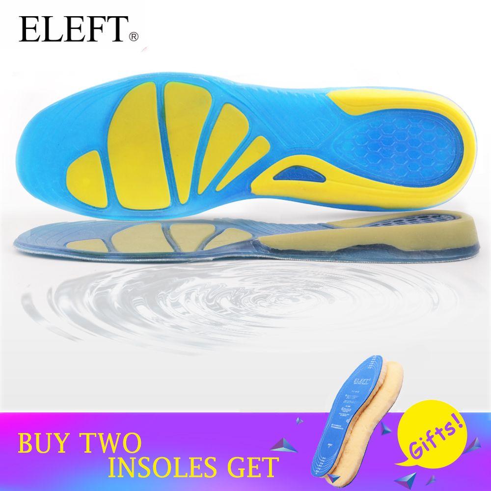 ELEFT Almohadilla de Gel de Silicona plantillas pads únicos zapatos almohadilla de gel de los hombres las mujeres plantilla plantilla plantilla niño accesorios insertos