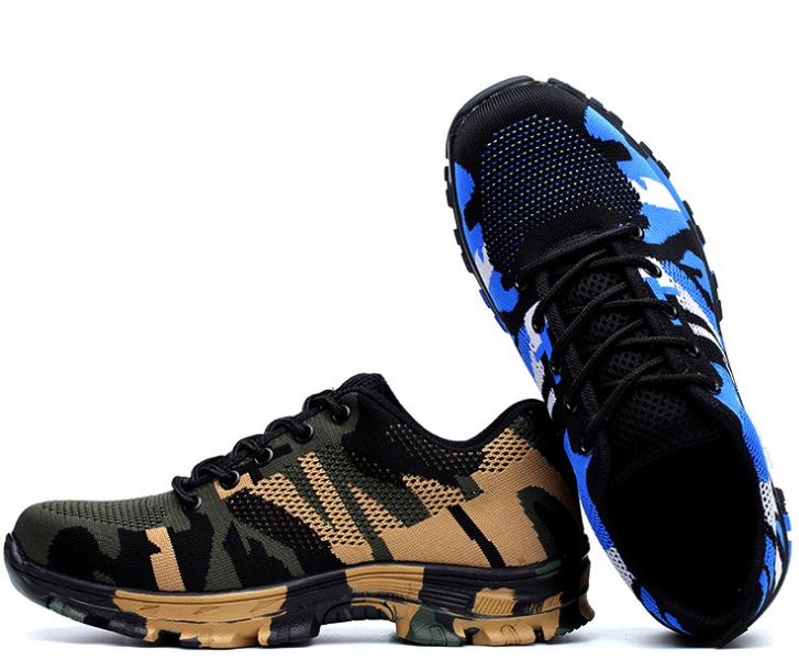 35-46 unisexe Sneakers En Plein Air Camping Randonnée Chasse Randonnée Pêche antidérapant Anti-fracassant Tactiques Protection chaussures