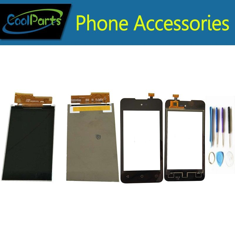 1PC/Lot High Quality 4.0Inch For Micromax Bolt D303 LCD Screen Display And Touch Screen Digitizer Replacement Part With Tools