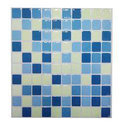 2019 beliebte Wootile Mosaik Wand Fliesen Wasserdicht Und Abnehmbare Wand Aufkleber Aufkleber DIY Ihre Küche Und Bad