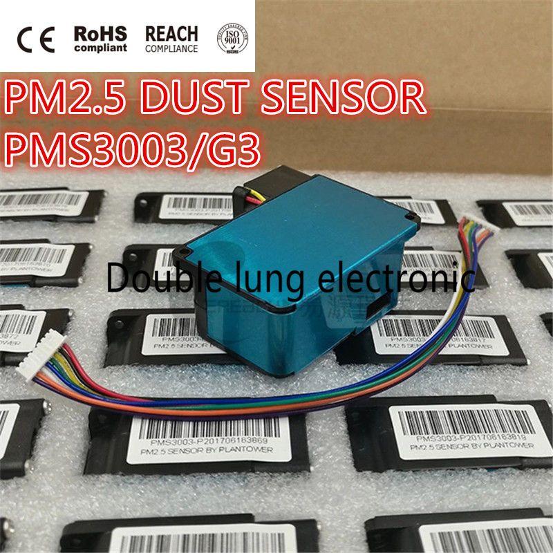 5 PCS/LOT PMS3003 laser de haute précision pm2.5 module de capteur de détection de qualité de l'air Super capteurs de poussière test PM2.5 PM10