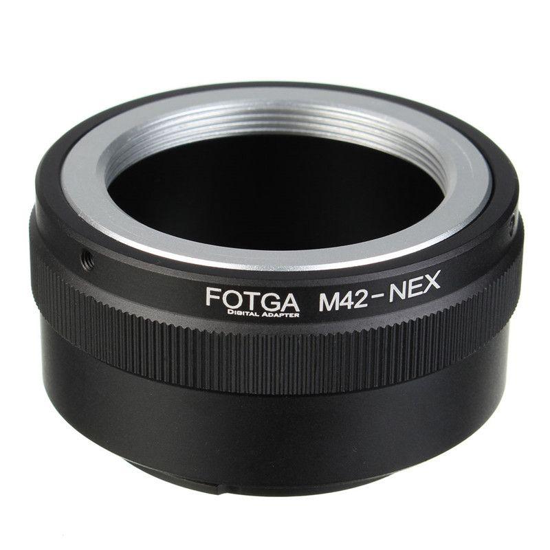 Professionelle Fotga M42 Objektiv Adapter Ring für Sony NEX E-mount NEX NEX3 NEX5n NEX5t A7 A6000 Kamera