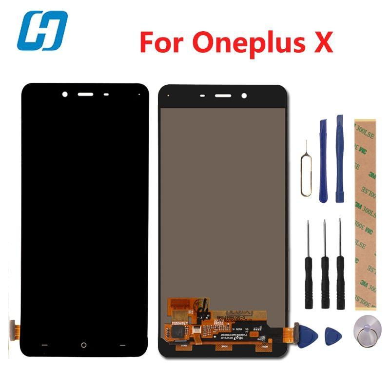 Hacrin For Oneplus X LCD Display +Touch Screen 100% New Digitizer Glass Panel For Oneplus X 1920x1080 FHD 5.0inch In Stock