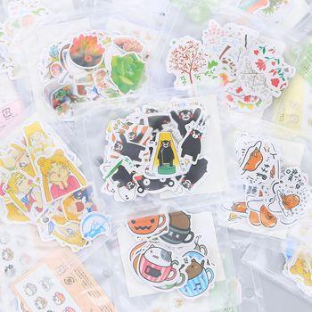 Различные стиль животных мини бумажная наклейка украшения DIY Ablum дневник в стиле Скрапбукинг этикетка кавайная наклейка