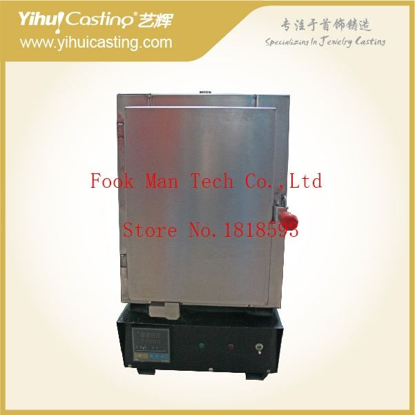 Yihui made burnout oven for lost wax process jewelry making, burn wet gypsum powder.