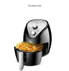 Automatic CHIPPER 3.8L air fryer multi-function Oven Intelligent oil less  NO smoke chips nuggets mozzarella stick maker
