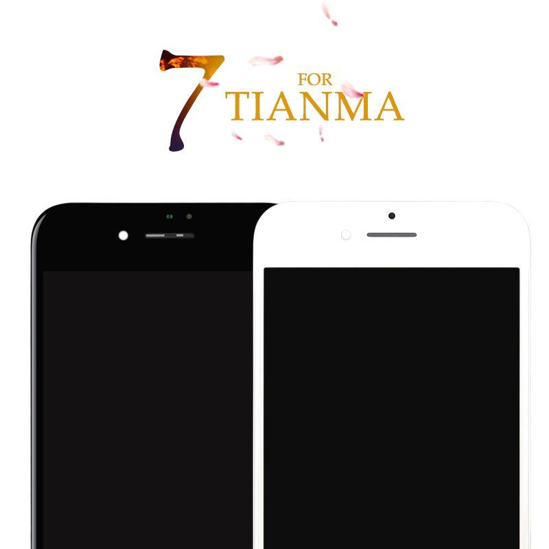 5 pcs Pour iPhone 7 7g Pour Tianma Excellente Qualité LCD Pas Dead Pixel Affichage à L'écran Tactile Digitizer Assemblée 3D Livraison Gratuite DHL