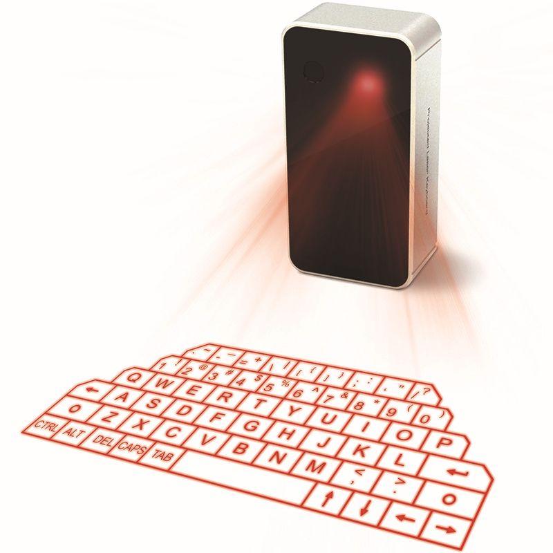 Virtuel Laser De Projection Sans Fil Bluetooth Clavier Mini Souris et Haut-Parleur pour Tablet PC Portable iPhone