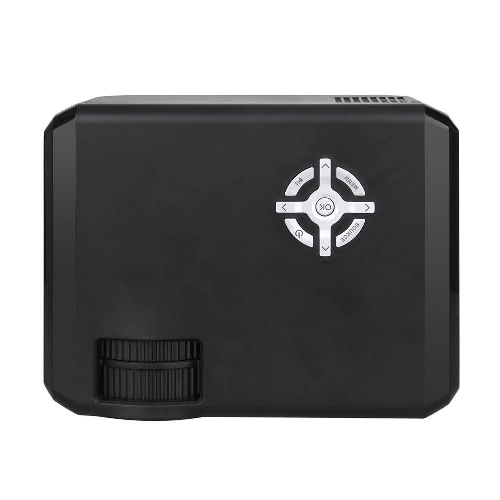 M17 Mini Projector Home Theater Full HD LED Projector Mini Projetor 720P Proyector 1280x720 Movie Cinema USB HDMI Beamer