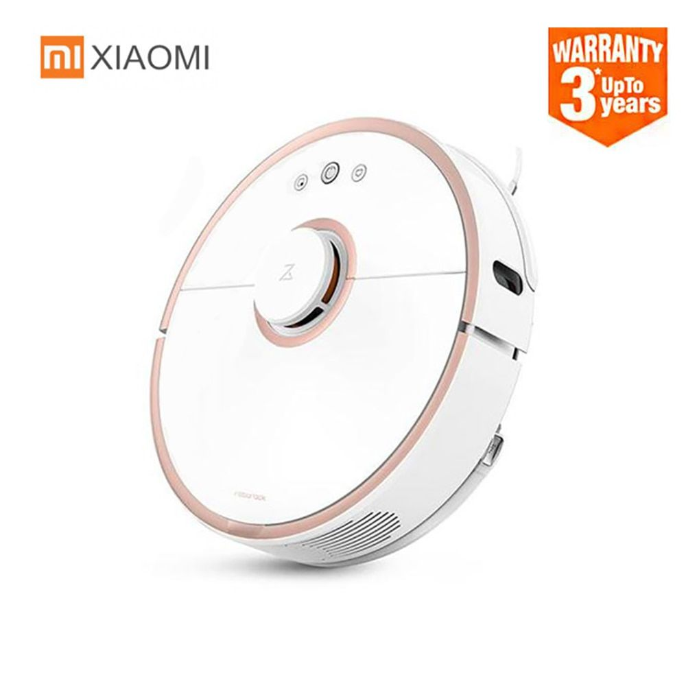 Original XIAOMI Roborock S50 Robot Vacuum Cleaner For Home App Control Smart Automatic Sweep Suction Mopping Intelligent Sensors