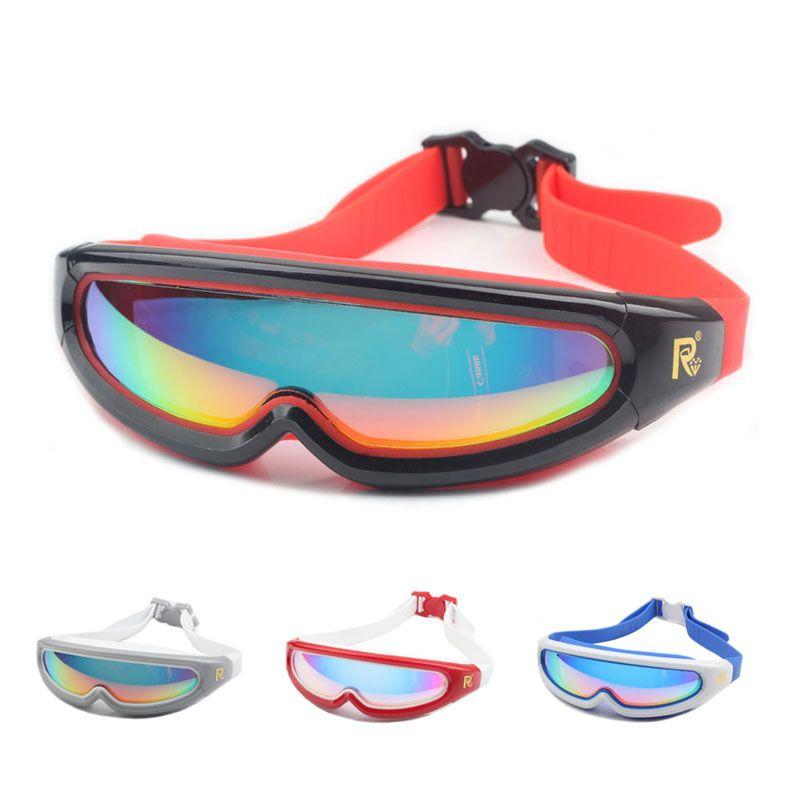 Nouveau adulte lunettes De Natation Anti-Buée Imperméables UV Hommes Femmes Sport de bain arena lunettes de lunettes De natation En Silicone