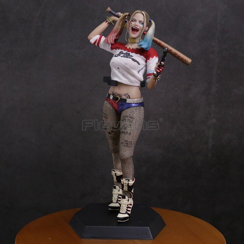 Crazy toys Suicide Squad Harley Quinn 1/6 th <font><b>Scale</b></font> Collectible Figure Model Toy 28.5cm