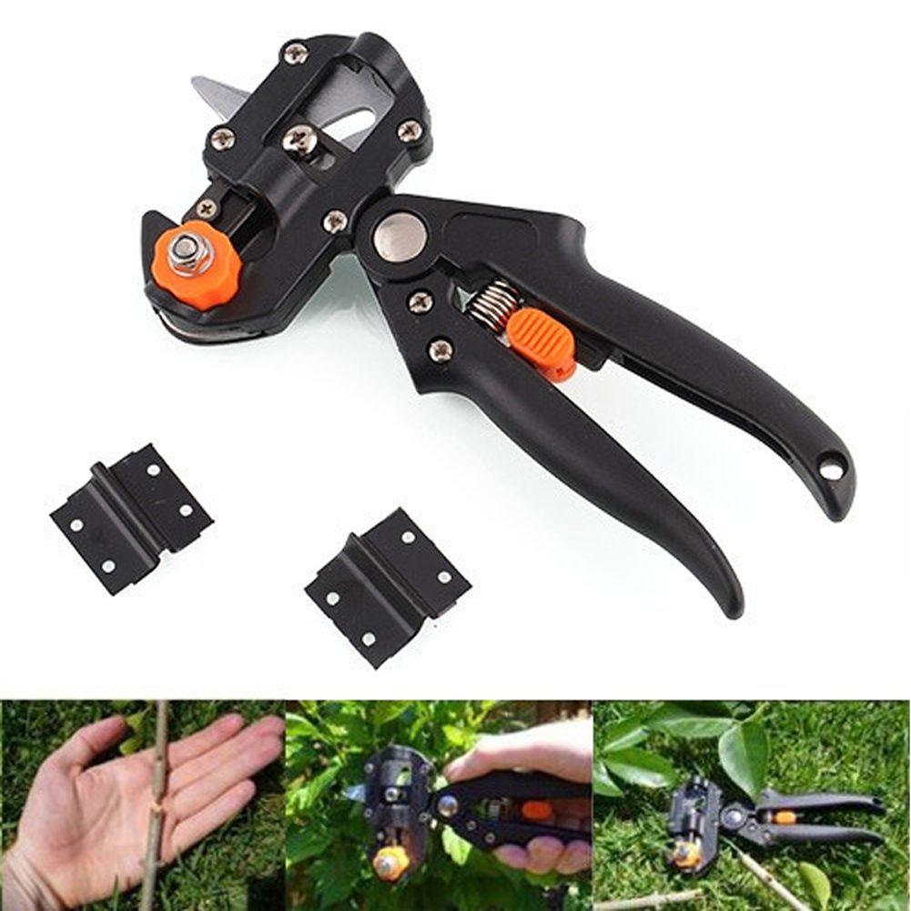 Fruit Tree <font><b>Garden</b></font> Tools Pro Pruning Shears Scissor Grafting cutting Tool + 2 Blade <font><b>garden</b></font> set pruner Tree Cutting Kit hot sale