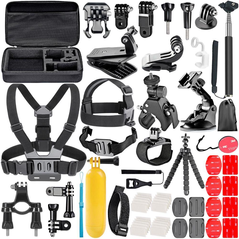 Neewer D'action Caméra Kit D'accessoires pour sjcam SJ4000 5000 6000 DBPOWER AKASO APEMAN WiMiUS Rollei QUMOX Lightdow Campark