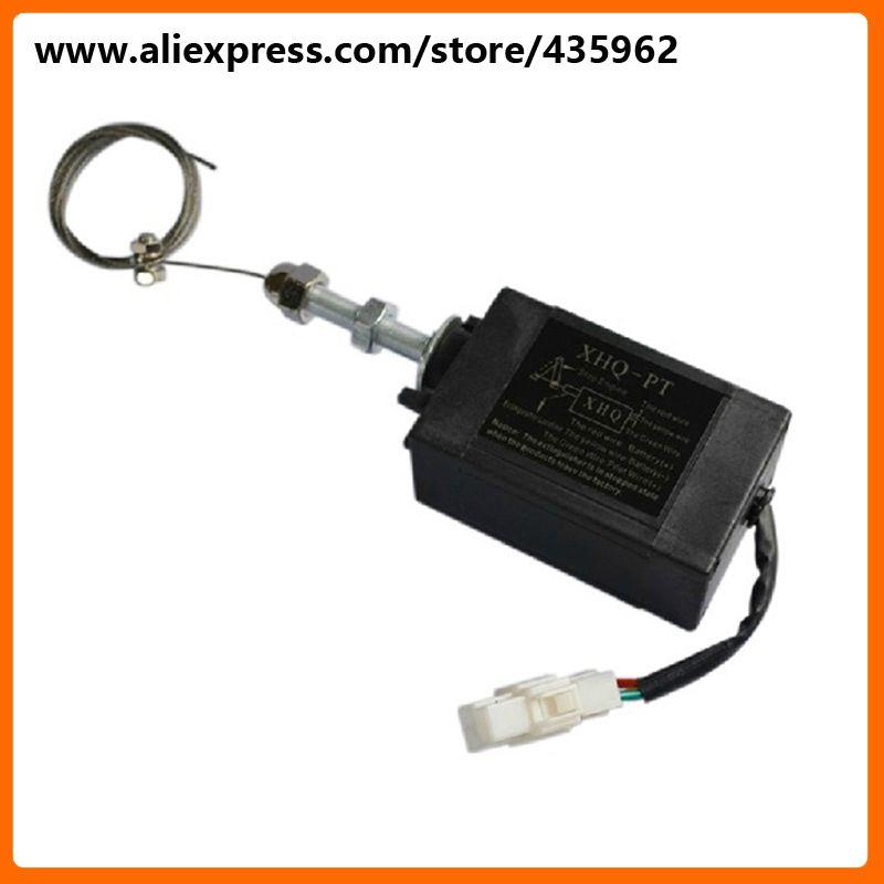 XHQ-PT 12 V puissance off tirer le type arrêter solénoïde pour diesel groupe électrogène haute qualité générateur partie