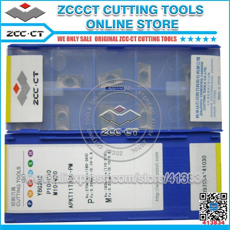ZCCCT schneiden werkzeuge cnc drehen werkzeuge und fräsen werkzeuge 1 pack