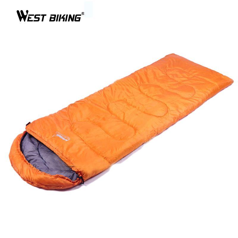 WEST BIKING 1KG 70*220CM Outdoor Mountainning Camping Ultralight Sleeping Bag Camping Mountain Cycling Sleeping Bag