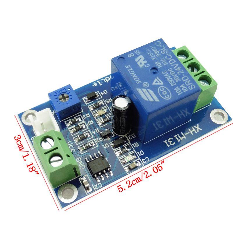DC 24 V Fotowiderstand Relaismodul Lichtdetektion Sensor Lichtschalter
