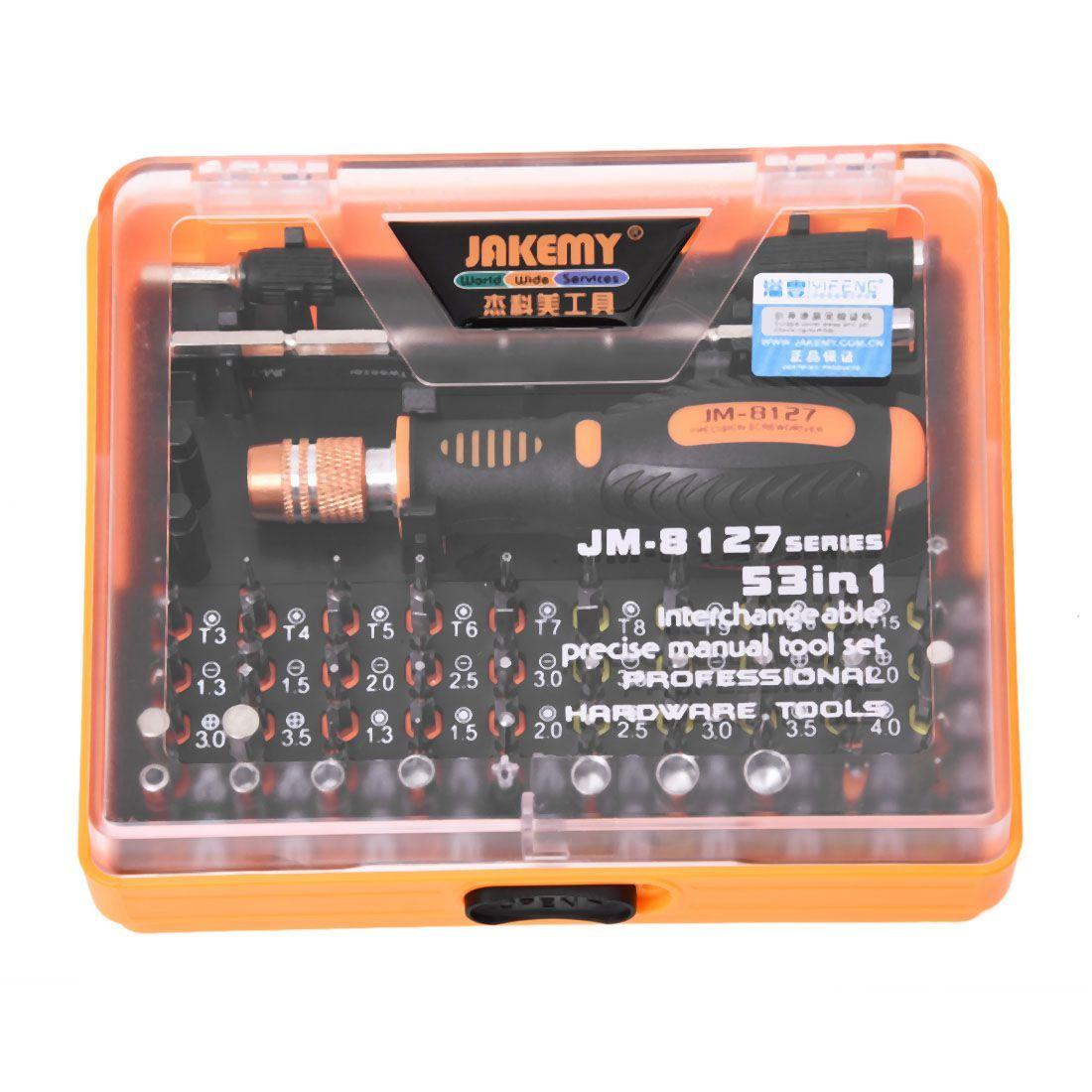 MYLB-Jakemy JM-8127 Magnetische 54in1 Schraubendreher-set Elektronische Zerlegen Reparatur Werkzeug