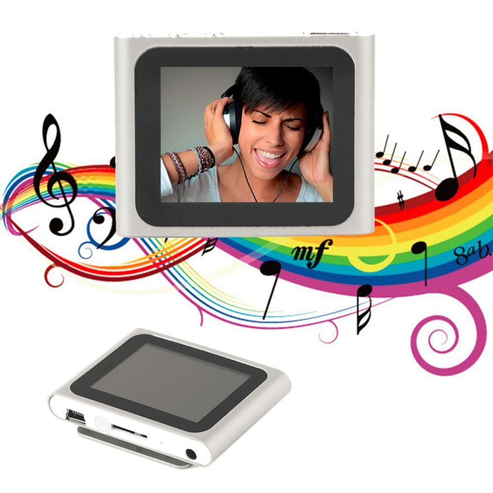 Tragbare Größe 1,8 zoll LCD Display 6th Generation Musik Media Video Film FM Radio MP4 Spieler Einfach Tragen