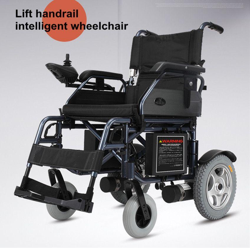 Krankenhaus Behinderte Leichte Falten Elektrische Power Rollstuhl Für Behinderte Menschen