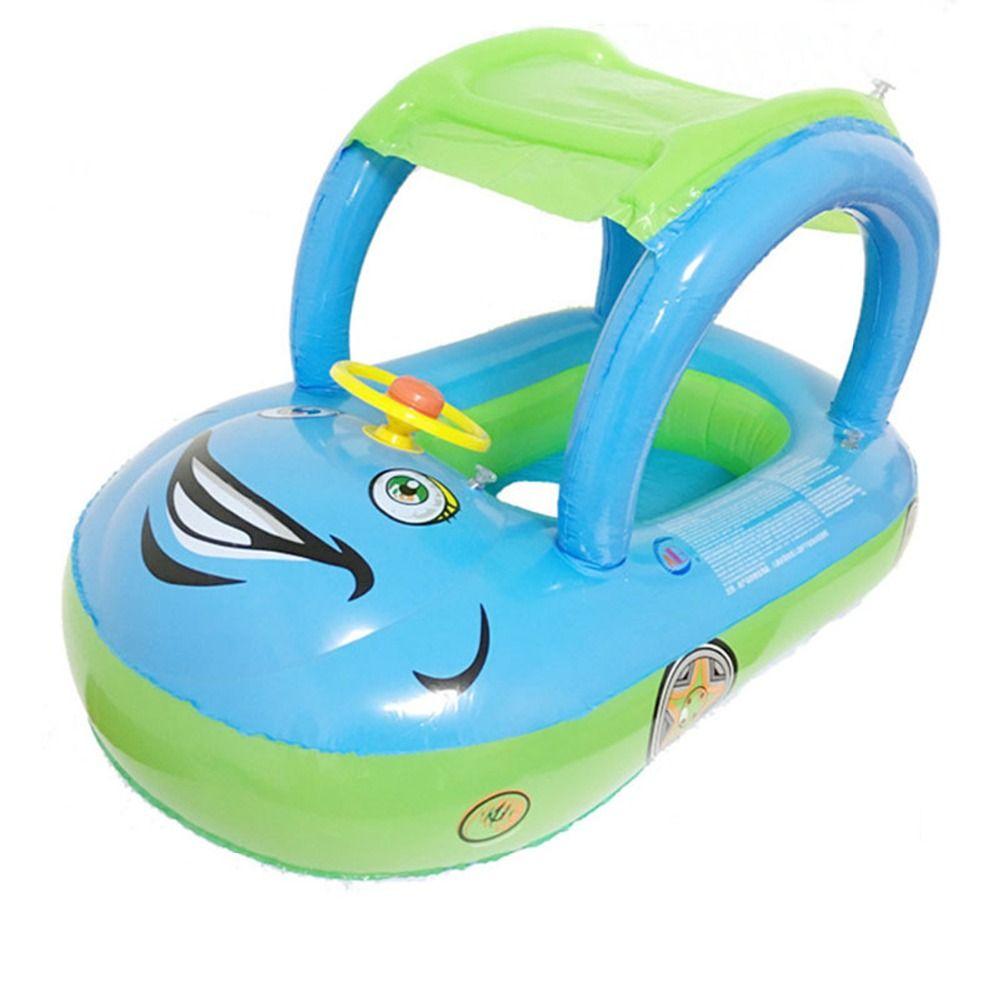 3 couleurs été bébé flotteur siège voiture bateau natation gonflable enfants enfants caoutchouc cercles sécurité nageur piscine accessoires
