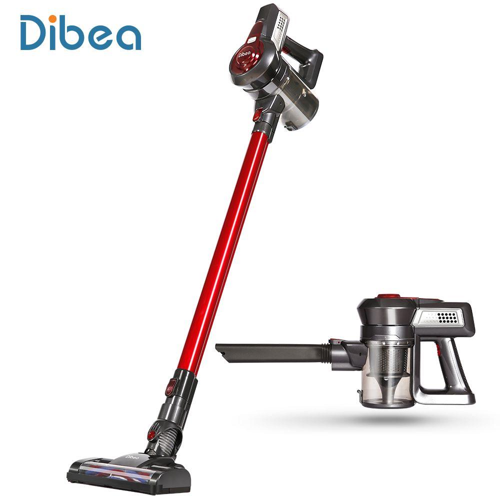 Dibea C17 Cordless Stick Staubsauger Handheld Staub Collector Haushalts Sauger mit Docking Station Portable Kehrmaschine