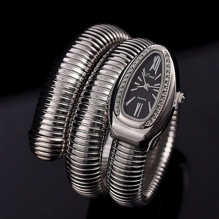 Cool serpent Bracelet montres femmes mode Infinity Bracelet Montre Vogue filles marque Quartz horloge Religios Reloj Montre femme NW404