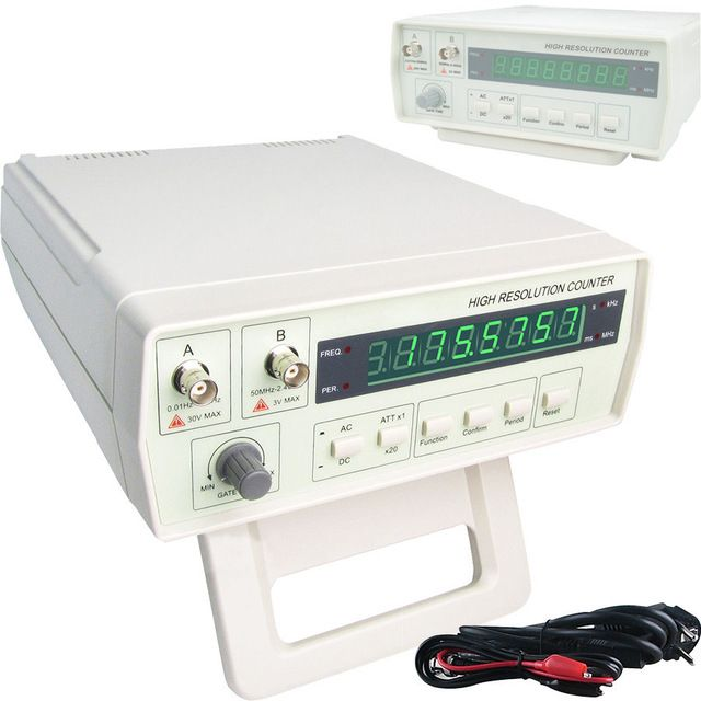 Frequency Meter Counter cymometer antenna analyzer radio New 100% original Victor VC3165 0.01-2.4GHz RF Meter English panel